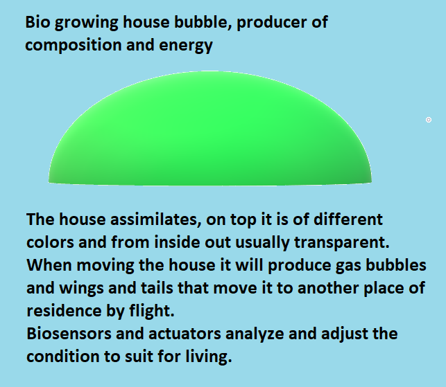 Bio-house-bubble