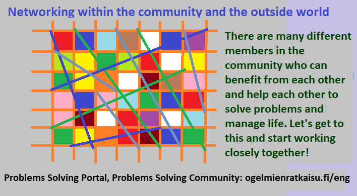 Networking within communities and the outside world